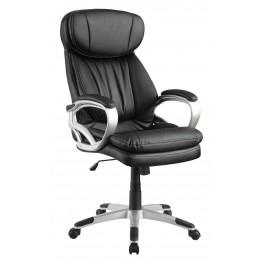 800165 Black Upholstered Office Chair