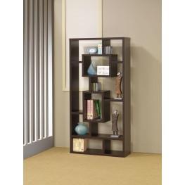 Cappuccino Book Shelf 800259