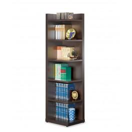 Cappuccino Corner Bookcase 800270