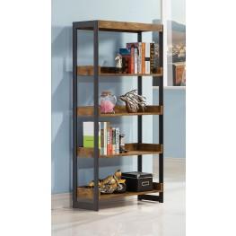 Estrella Antique Nutmeg Bookcase