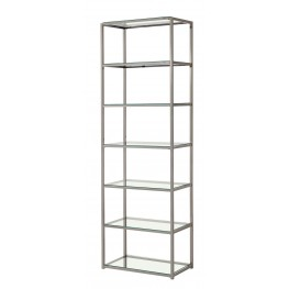 801017 Nickel Bookcase