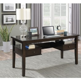 Burnished Espresso Writing Desk
