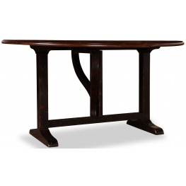 The Foundry Cafe McLaren Cherry Drop Leaf Dining Table