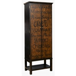 Majic Hand Painted Wine Cabinet