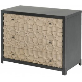Bella Antique Sand Morocco Entry Chest