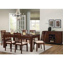 Santos Brown Dining Room Set