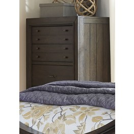 Catawba Hills Peppercorn 5 Drawer Chest