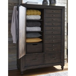 Catawba Hills Peppercorn Door Chest