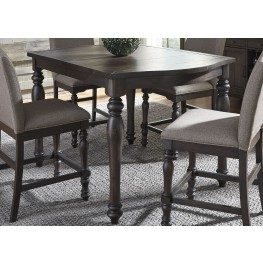 Catawba Hills Peppercorn Extendable Gathering Dining Table