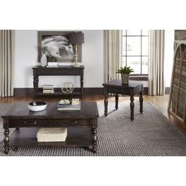 Catawba Hills Peppercorn Rectangular Occasional Table Set