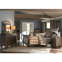 Southern Pines Sleigh Bedroom Set