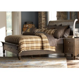 Southern Pines King Storage Bed