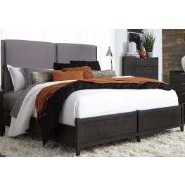 Tivoli Brown Queen Panel Bed