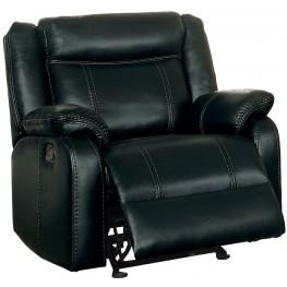 Jude Black Glider Reclining Chair