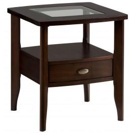 Montego Merlot End Table