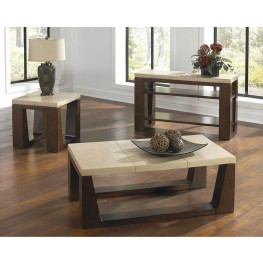 Cement Top Occasional Table Set
