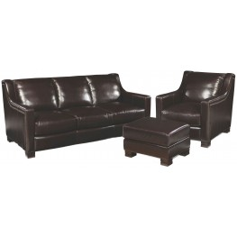 Carrington Madrid Espresso Living Room Set