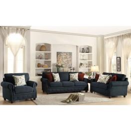 Summerson Blue Living Room Set