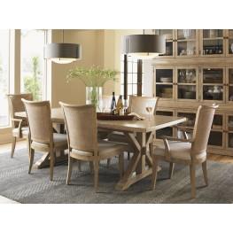 Monterey Sands Walnut Creek Extendable Rectangular Dining Room Set