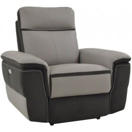 Laertes Taupe Power Reclining Chair
