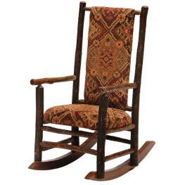 Hickory Rocking Standard Fabric Chair