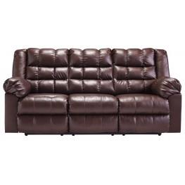 Brolayne DuraBlend Brown Reclining Sofa