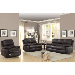 Greeley Brown Double Reclining Living Room Set