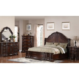 Edington Panel Bedroom Set