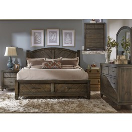 Modern Country Poster Storage Bedroom Set