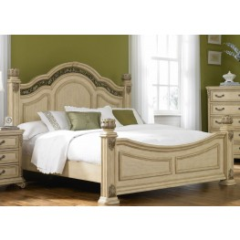 Messina Estates II Queen Poster Bed
