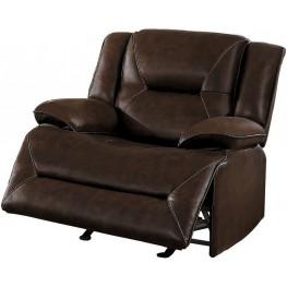 Okello Brown Glider Reclining Chair