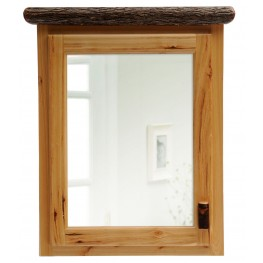 Hickory Hinged Left Medium Medicine Cabinet