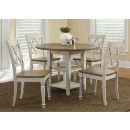 Al Fresco III Drop Leaf Extendable Dining Room Set