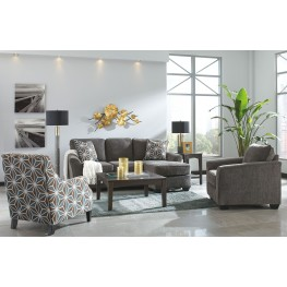 Brise Slate Living Room Set