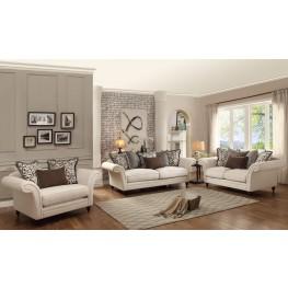 Vicarrage Cream Living Room Set