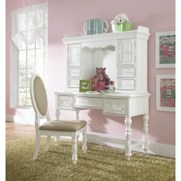 SweetHeart Desk with Hutch