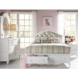 SweetHeart Youth Upholstered Storage Bedroom Set