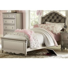 Sterling Twin Upholstered Panel Bed