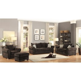 Wandal Brown Living Room Set