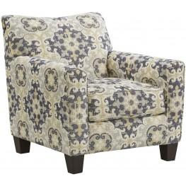 Denitasse Parchment Accent Chair