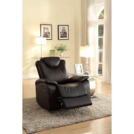 Talbot Black Glider Reclining Chair
