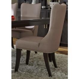 Platinum Upholstered Khaki Side Chair