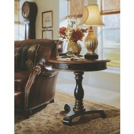 Preston Ridge Black Pedestal Accent Table