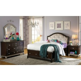 Glamour Youth Panel Storage Bedroom Set