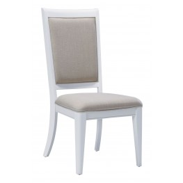 Brighton White Side Chair Set of 2