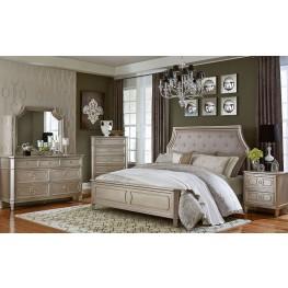 Windsor Silver Silver Panel Bedroom Set