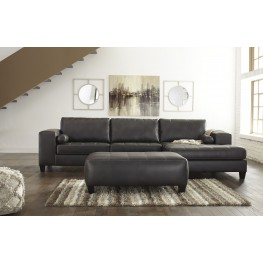 Nokomis Charcoal RAF Sectional