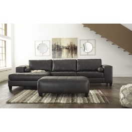 Nokomis Charcoal LAF Sectional