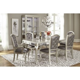 Diva Rectangular Extendable Leg Dining Room Set