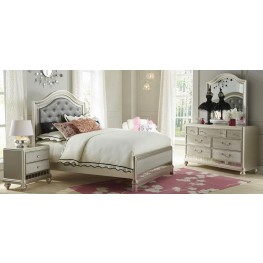 Li'l Diva Upholstered Panel Bedroom Set